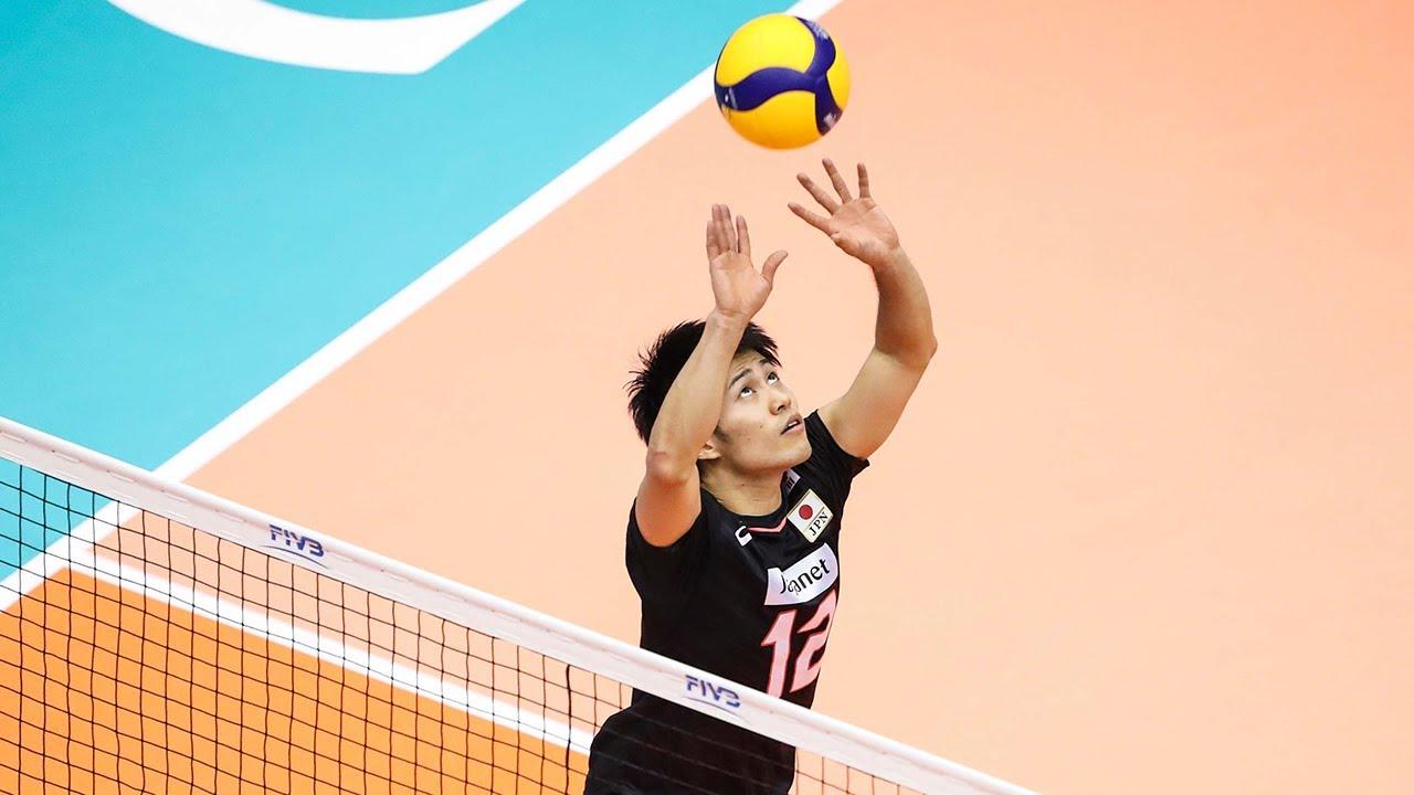 The Art of Masahiro Sekita   Most Creative Volleyball Setter (HD)