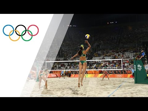 Rio Replay: Women's Beach Volleyball Bronze Final
