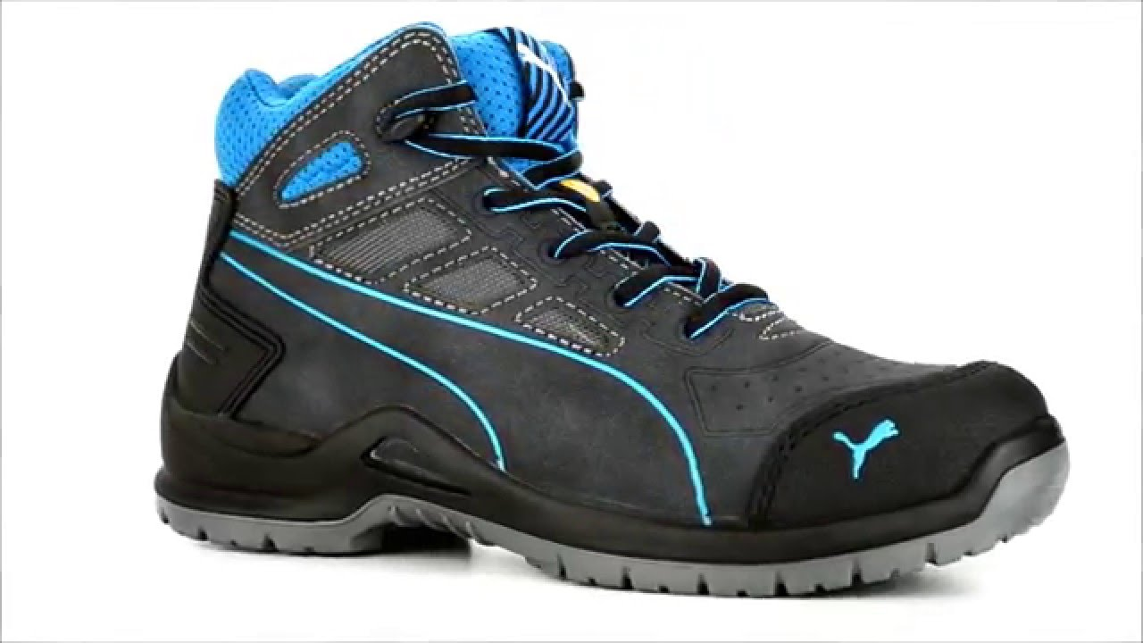 76bee0fe1ee Women s Puma Composite Toe Mid Work Shoe 634055   Steel-Toe-Shoes.com -  YouTube