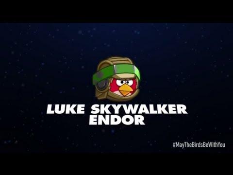 angry birds star wars 2 character reveals luke skywalker