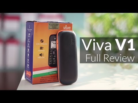 Viva V1 Review - The Most Affordable Phone of 2017 (Giveaway)
