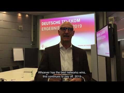 Social Media Post: Deutsche Telekom got a great start into 2019.
