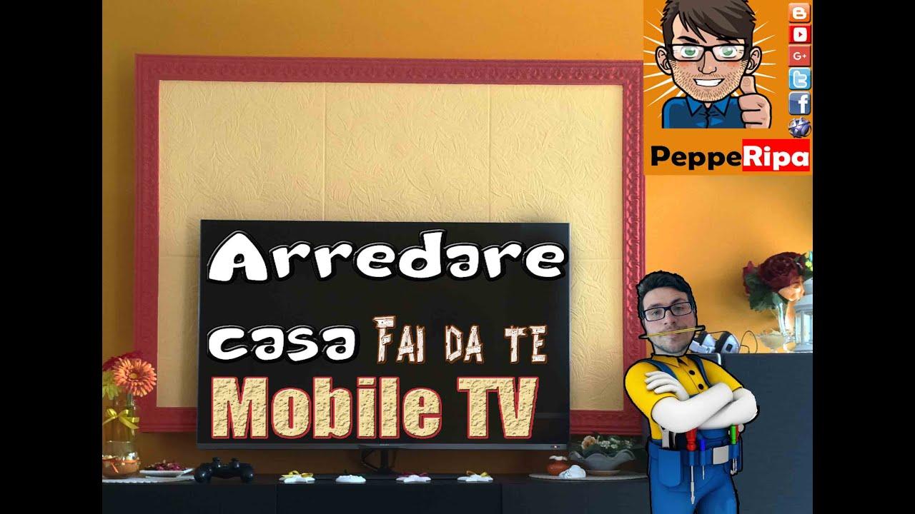arredare casa a poco prezzo mobile tv salotto youtube