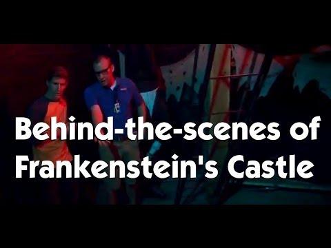 Frankenstein S Castle Behind The Scenes Indiana Beach Friday Zone