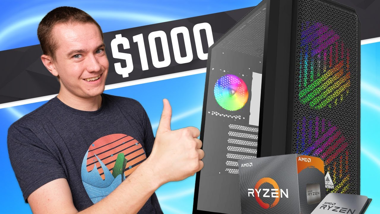 Best $1000 Gaming PC Build