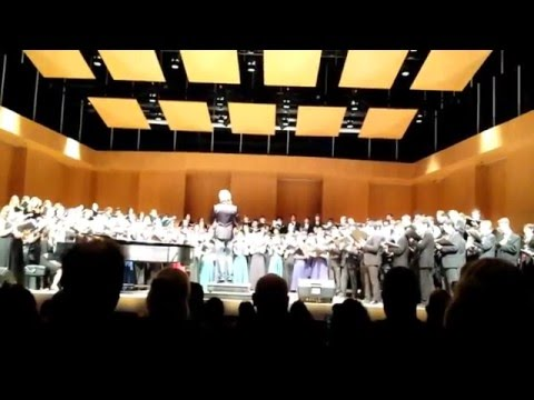 """Sleep"" RCC 2016 Eric Whitacre Honor Choir"
