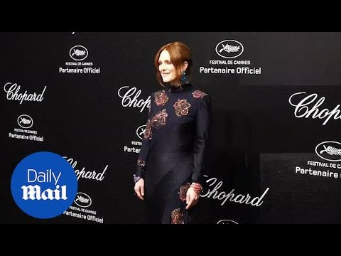 Julianne Moore looks chic in black at Chopard party in Cannes