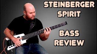Обзор бас-гитары Steinberger Spirit / Steinberger Spirit Bass Review