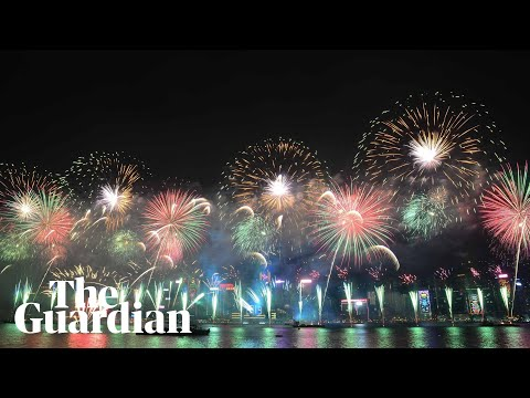 Out with a bang! New Year's Eve fireworks around the world