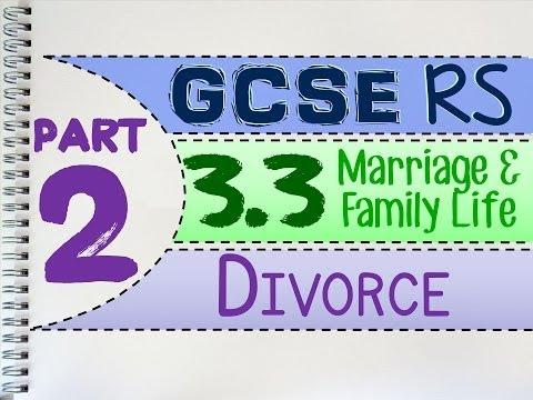 GCSE RS Unit 3.3 (Part 2 of 5) Divorce | by MrMcMillanREvis
