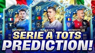SERIE A TEAM OF THE SEASON PREDICTIONS!! FIFA 20 Ultimate Team