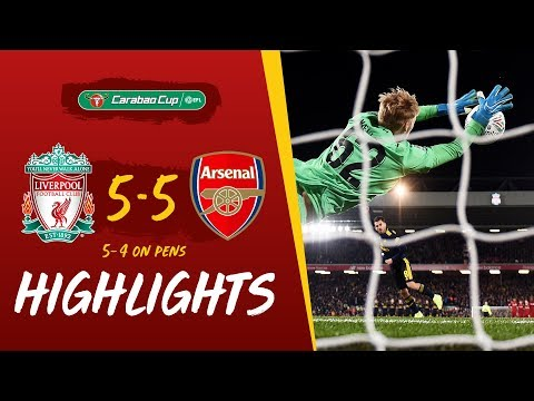 Liverpool 5-5 Arsenal (5-4 on penalties) Reds win dramatic 1