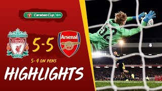 Liverpool 5 5 Arsenal (5 4 On Penalties) Reds Win Dramatic 10 Goal Thriller | Highlights