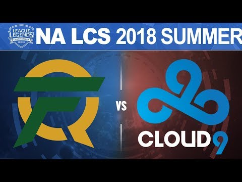 FLY vs C9 - NA LCS 2018 Summer Split W9D2 - FlyQuest vs Cloud9