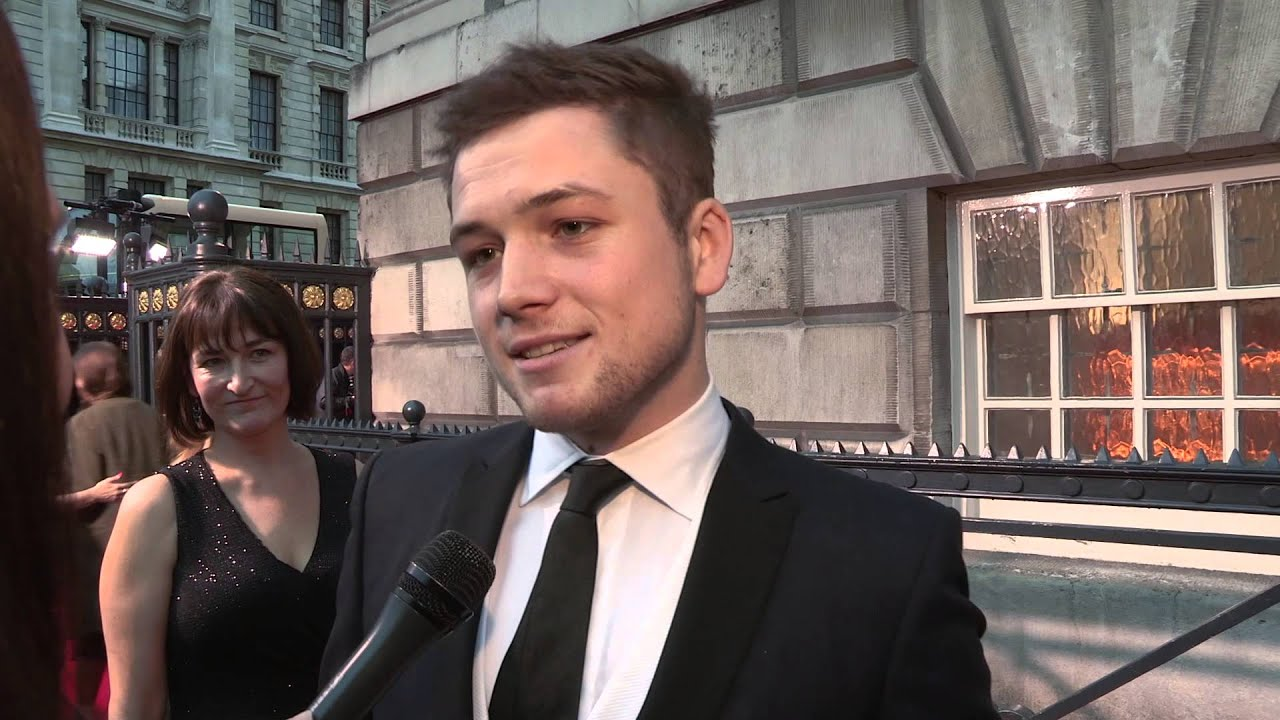 Kingsman The Secret Service Interview Taron Egerton: Testament Of Youth, Kingsman: The Secret