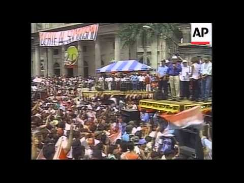 NICARAGUA: 20TH ANNIVERSARY OF SANDINISTA REVOLUTION