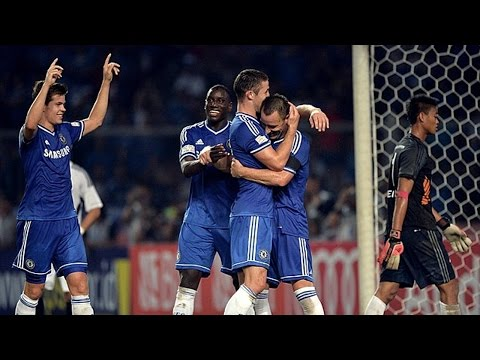 Memorable Match ► Chelsea 8 vs 1 Indonesia All-Stars - 27 Jul 2013 | English Commentary