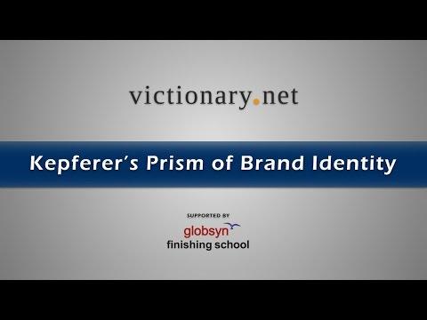 Kepferer's Prism of Brand Identity