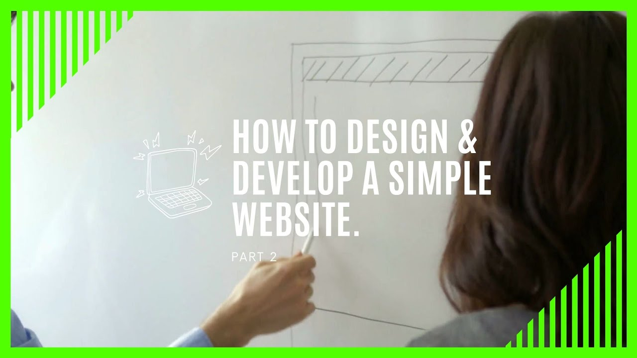 Designing a wireframe | Part 2 of How to design a website