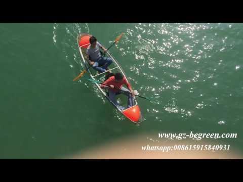 transparent kayak clear kayak crystal kayak glass bottom kayak