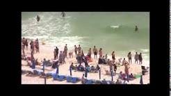 Rip Current Rescue, Panama City, Florida, Sunday 20 July 2014