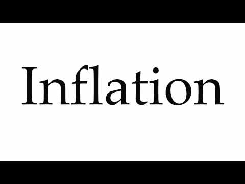 How to Pronounce Inflation