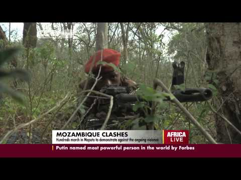 Mozambique president denies claims of instability