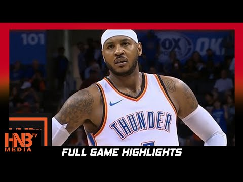 Oklahoma City Thunder vs Minnesota Timberwolves Full Game Highlights / Week 1 / 2017 NBA Season