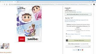 Nintendo amiibo Ice Climbers Super Smash Bros. Series
