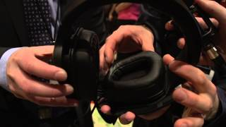 Mionix Booth with Peter Nygren - New Headset Coming Soon - Linus Tech Tips CES 2013