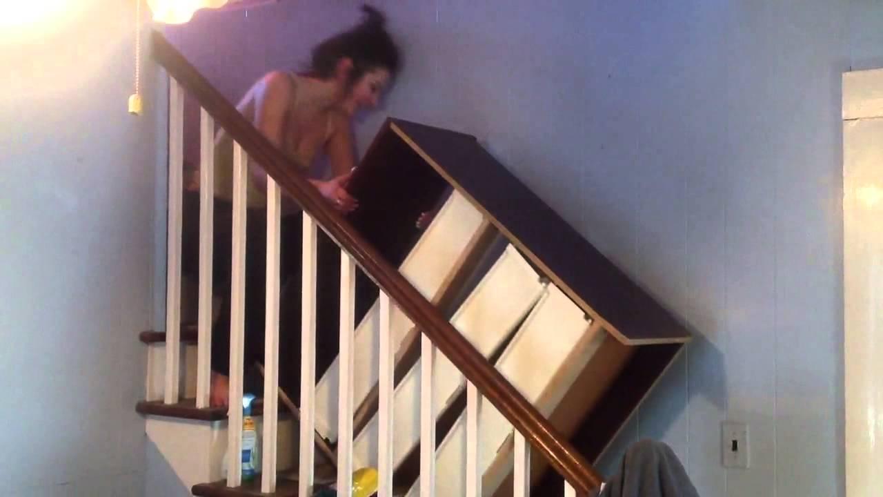 How Girls Move Furniture.