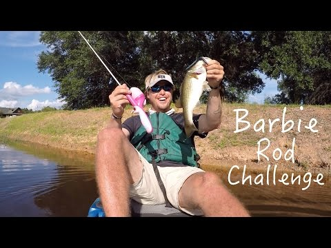 Wife goes frog fishing with lakeforkguy bass tips doovi for Lunkerstv fishing rods