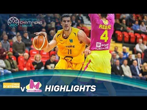 Telenet Oostende v Mega Leks - Highlights - Basketball Champions League