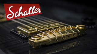How to install the Schaller Signum Bridge on your guitar