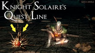 Dark Souls - Solaire's Quest Line, Saving Solaire In Lost Izalith, And Summoning Him At Lord Gwyn