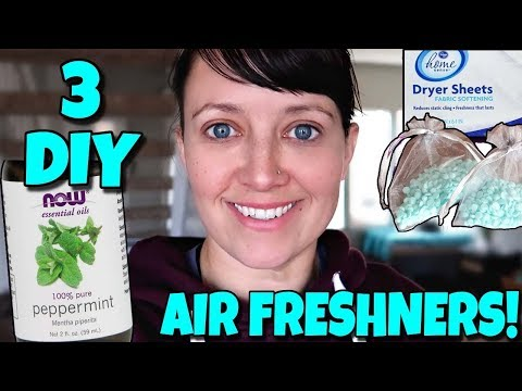 3 DIY Air Fresheners 📍 How To With Kristin