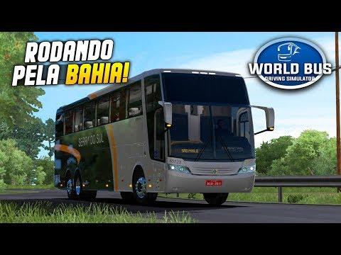 World Bus Driving Simulator - Viajando Com O Jum Buss Pra Bahia - Rodando Pelo Brasil #06