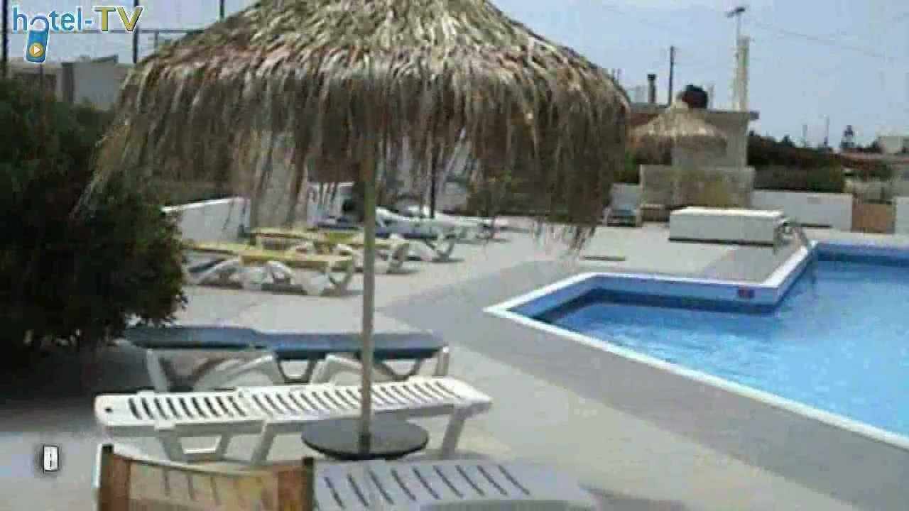 Klio apart hotel gouves crete youtube for Appart hotel pantin