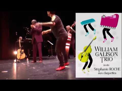 Teaser William Galison Trio invite Stéphanie Roche aux Claquettes