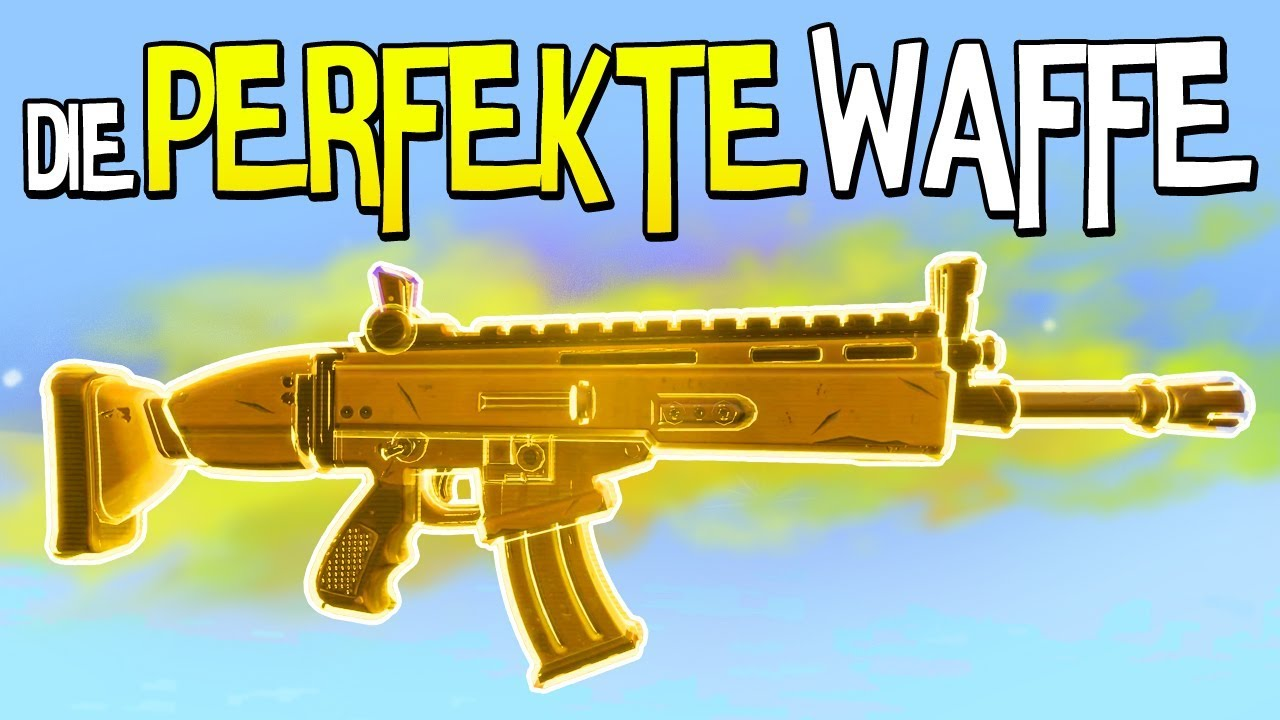 Scar Die Perfekte Waffe Fortnite Battle Royale