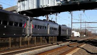Amtrak, SEPTA and NJT NEC Action, Sunday after Thanksgiving 2010
