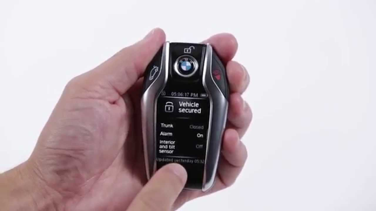BMW Display Key | BMW Genius How-To - YouTube
