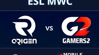 Origen vs GAMERS2 - ESL MWC Challenge - MWC 2015 - #ESLArenaMWC