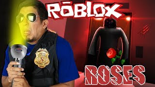 ROBLOX ROSES & CLOWN NIGHTS: SCARIEST ROBLOX GAME EVER MADE! GRUMPY COP SUPER NOOB DISCOVERS GHOSTS!
