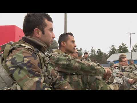 Institutional Training For International Military Students
