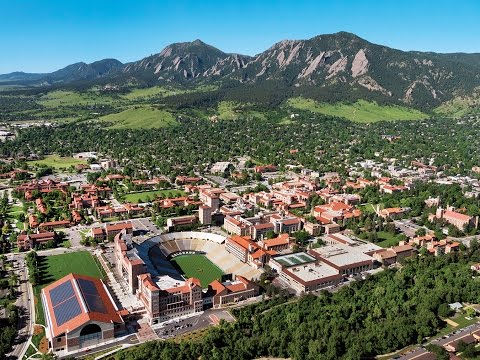CU Boulder Campus Tour 2017
