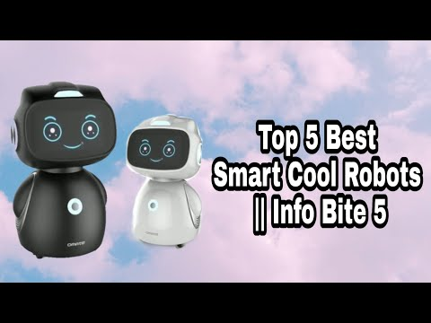 5 Best Smart Mini Robots || Info Bite 5 2018