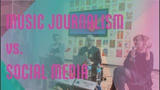 The Role of Music Journalism in the Era of Social Media // INES#conference at MENT Ljubljana 2018