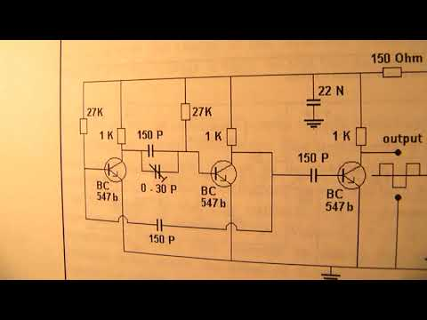 Square wave oscillator 119 KHZ -  270 KHz (how to prevent capacitive and inductive parasytics)