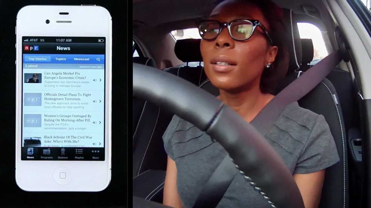 Test Drive Of Npr News For Ford Sync Youtube
